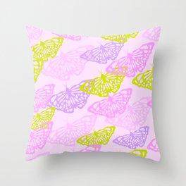 Butterflies 5 Throw Pillow