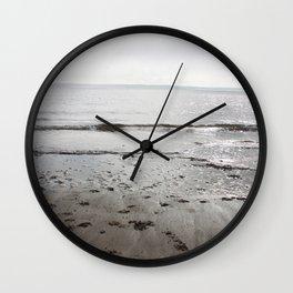 Broughty Ferry beach 3 Wall Clock