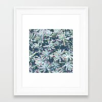 plant Framed Art Prints featuring Plant by Unamoric
