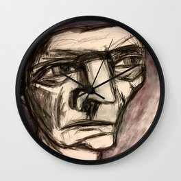 The Incandescent Man. Wall Clock
