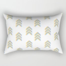 Chevron Blur Rectangular Pillow