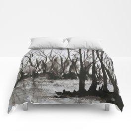 Brent skog - Gerlinde Streit Comforters