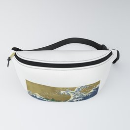 Pig surfing Fanny Pack