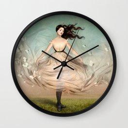 Butterfly Dress Wall Clock