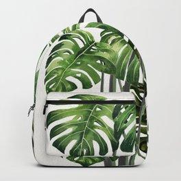 Tropical Monstera  Backpack
