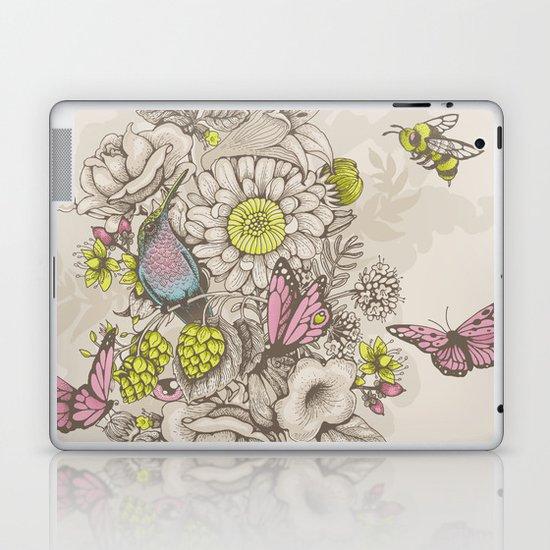 Beauty (eye of the beholder) - cream version Laptop & iPad Skin