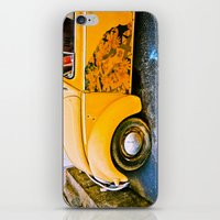 volkswagon iPhone & iPod Skins featuring vintage vw and door art by robertbuttery