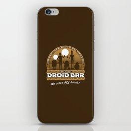 Droid Bar iPhone Skin