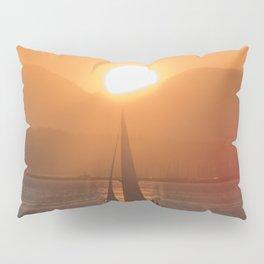 Sail under the Sun Salish Sea Pillow Sham
