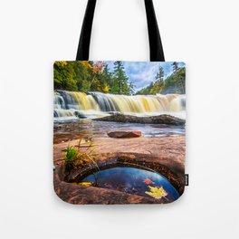 Mandio Falls - Porcupine Mountains Tote Bag