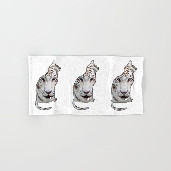 White cats. Hand & Bath Towel