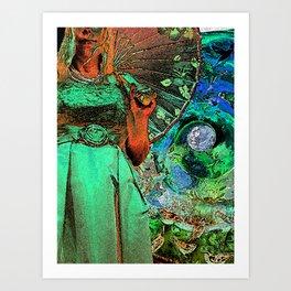 Thalia in Wonderland Art Print