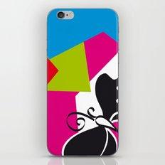 Black Flying iPhone Skin