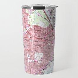 Vintage Map of Mobile Alabama (1953) Travel Mug