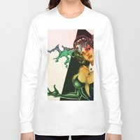 devil Long Sleeve T-shirts featuring Devil by kumo izuru