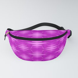 Pattern with pink Fanny Pack