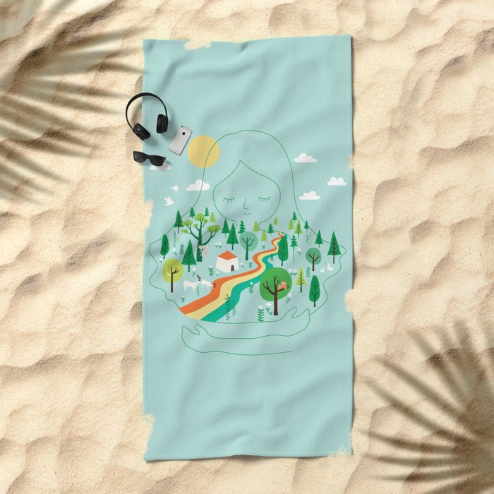 Mother Beach Towel