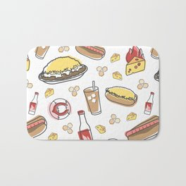 Skyline Chili Pattern Color Bath Mat