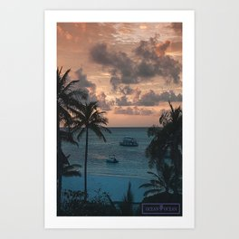 The View 2 Art Print