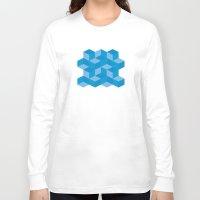 escher Long Sleeve T-shirts featuring Escher #006 by rob art | simple