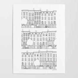 blocks of Brooklyn Poster