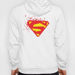 Square Heroes - man of steel Hoody