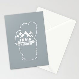 Train Higher Tahoe Stationery Cards