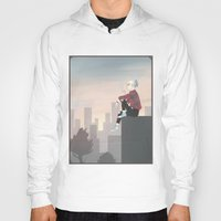 sunrise Hoodies featuring sunrise by Emily Rose Carter
