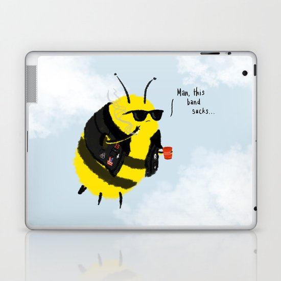 Festival Bees Laptop & iPad Skin