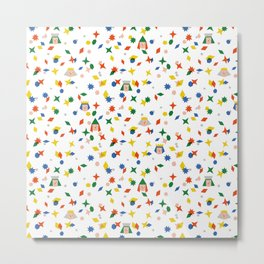 Confetti King  Metal Print