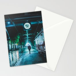 Walking Home - Memphis Photo Print Stationery Cards