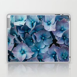 Blue Summer Hydrangeas Laptop & iPad Skin