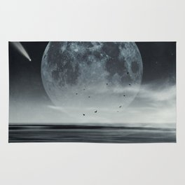 oceans of tranquility Rug