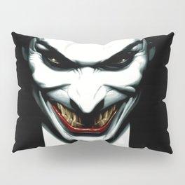 Black joker Pillow Sham