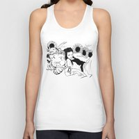 leo Tank Tops featuring Leo by Cassandra Jean