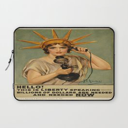 Vintage poster - Liberty Bonds Laptop Sleeve