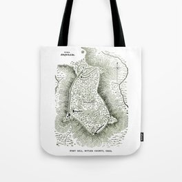 Earthworks at Fort Hill Tote Bag