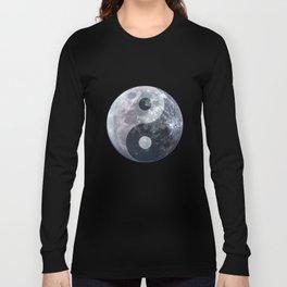 Yin Yang Moon Long Sleeve T-shirt