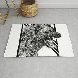 The Laughing Hyena Rug