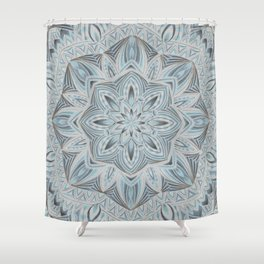 Winters Frost Shower Curtain