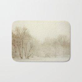 Snow Scene Bath Mat