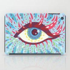 Weird Blue Psychedelic Eye iPad Case