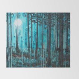 Night light Throw Blanket