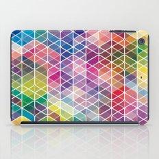 Cuben Curved #6 Geometric Art Print. iPad Case