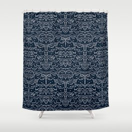 Wave of Cats Shower Curtain