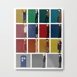 Doctor Who 2 Metal Print