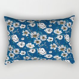 Meadow Wildflowers Rectangular Pillow