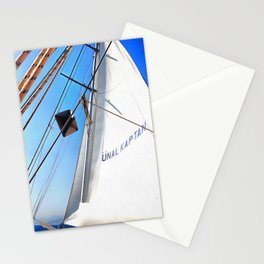 The Realist Adjusts The Sails Stationery Cards