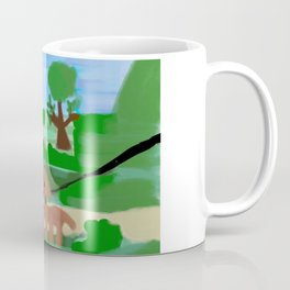 Have you walked your dog today? Coffee Mug