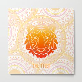 The Tiger Metal Print